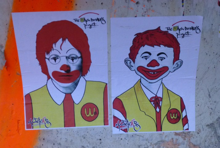 Wack Donald's Lennon and Newman