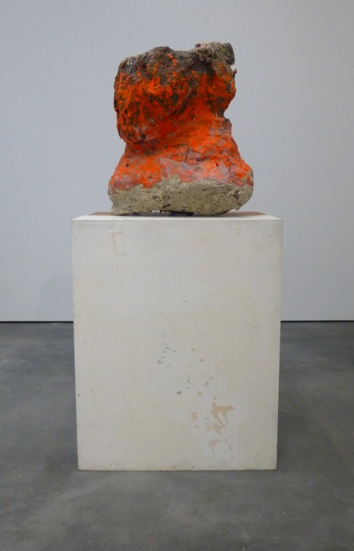 Franz West Orange Sculpture