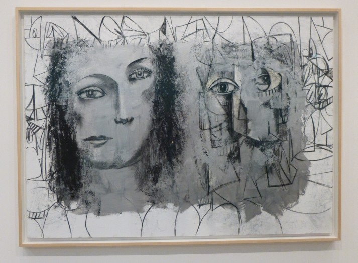 George Condo Double Head