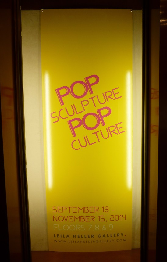 Pop Sculptures Signage