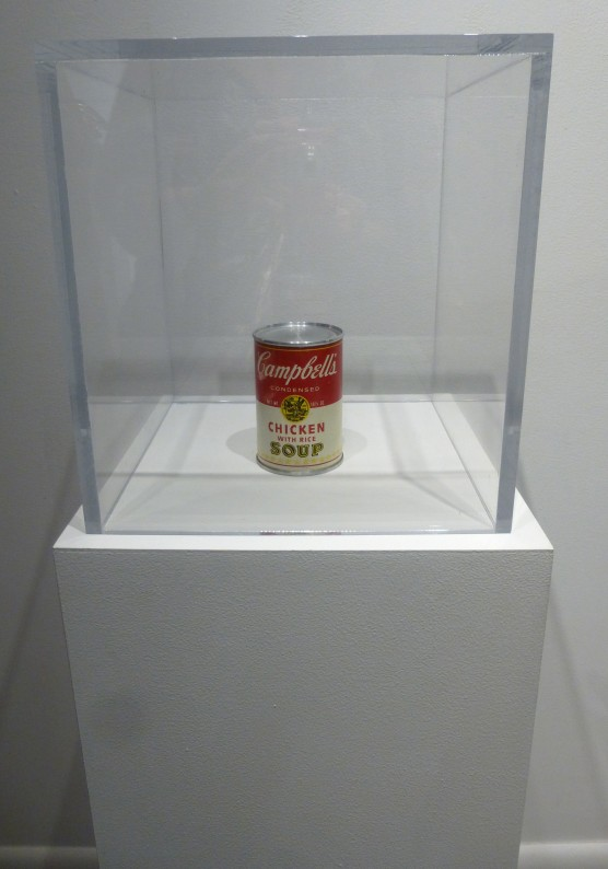 ANDY WARHOL Campbell's Soup Can (Chicken with Rice)