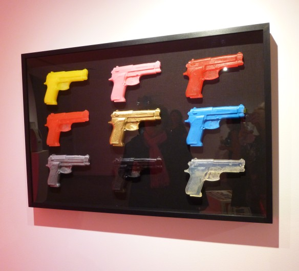 SHELTER SERRA Nine Fake Guns, 2014