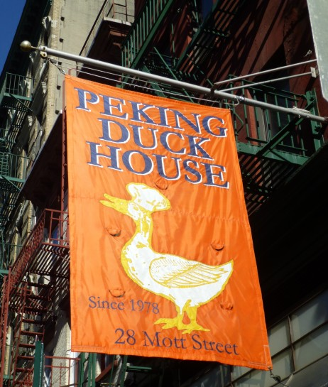 Peking Duck House Signage