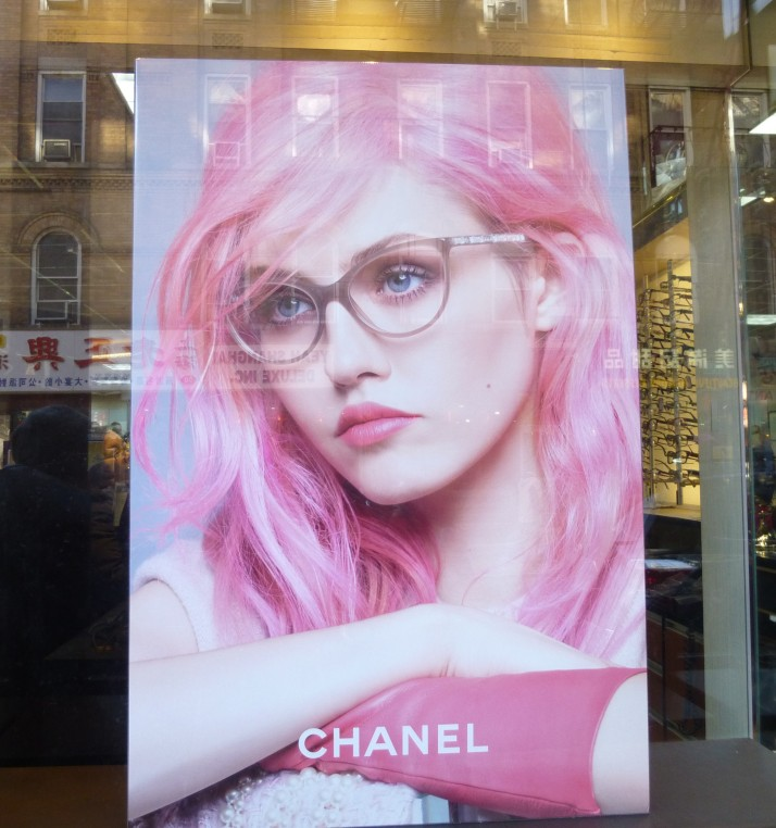 Chanel Eyewear Ad