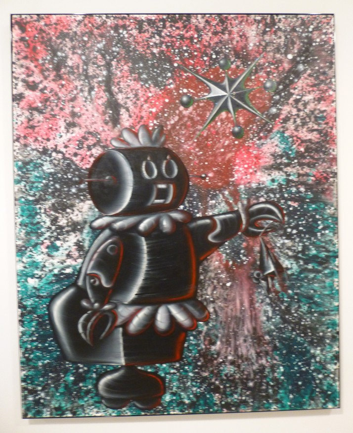Rosie the Robot by Kenny Scharf