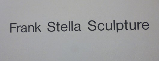 Frank Stella Sculpture Signage