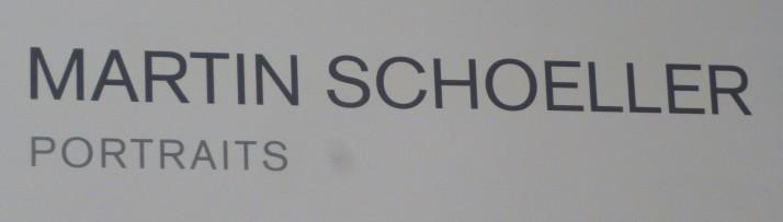 Martin Schoeller Signage