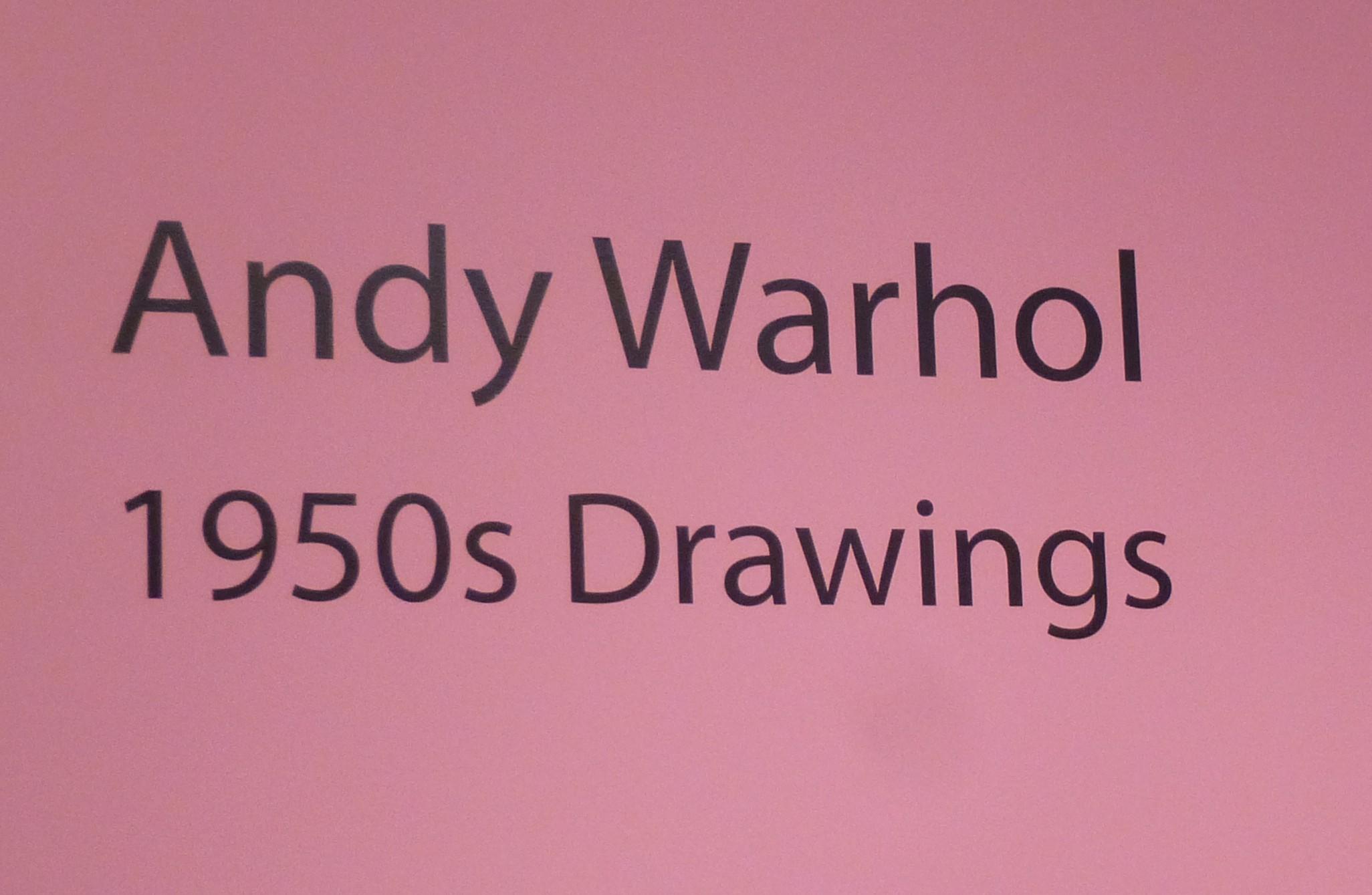 Andy Warhol 1950s Signage