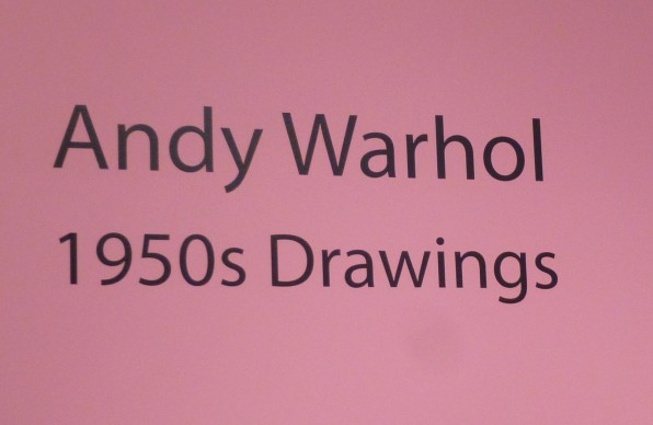 Andy Warhol 1950s Signage