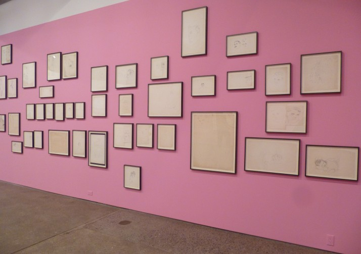 Warhol Drawings Installation View