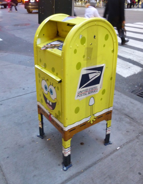 SpongeBob Square Pants Mail Box