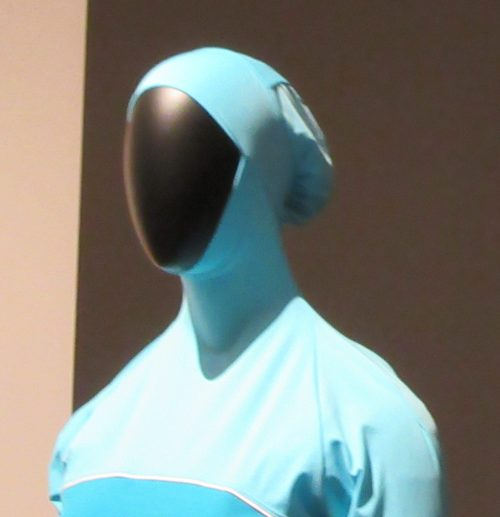 Burkini Headpiece Detail
