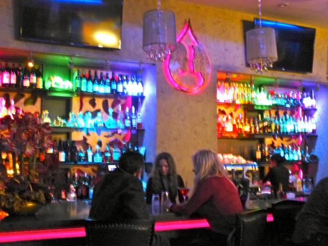 Vis a Vis Bar Scene Darker