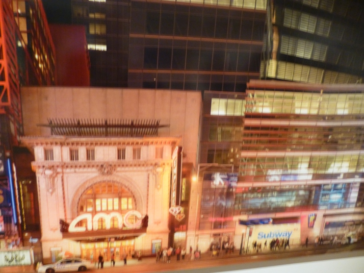 42nd Street South Times Square Manhattan 2011 Detail