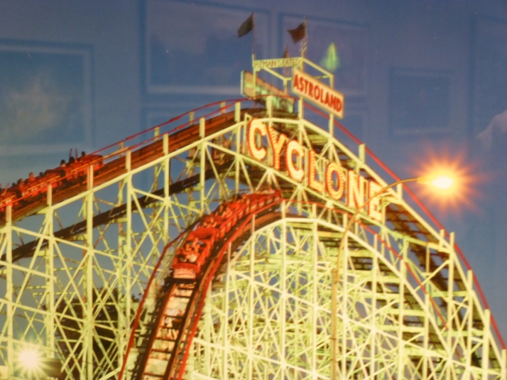 Cyclone Coney Island Detail