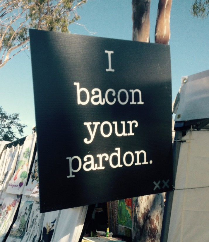 I Bacon Your Pardon