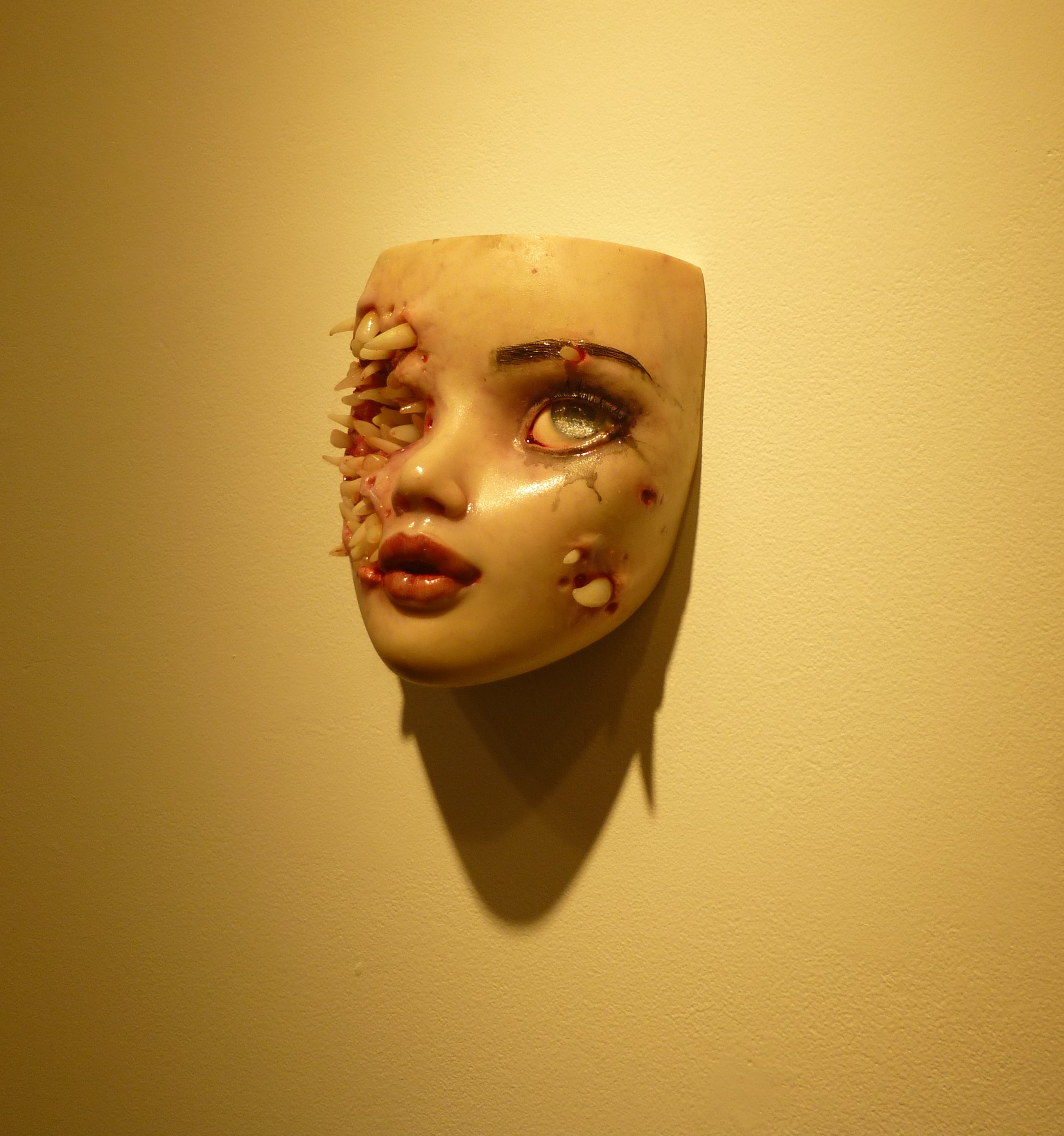 Colin Christian S Trypophobia At Stephen Romano Gallery The