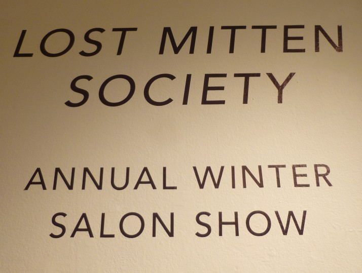 Lost Mitten Society Signage