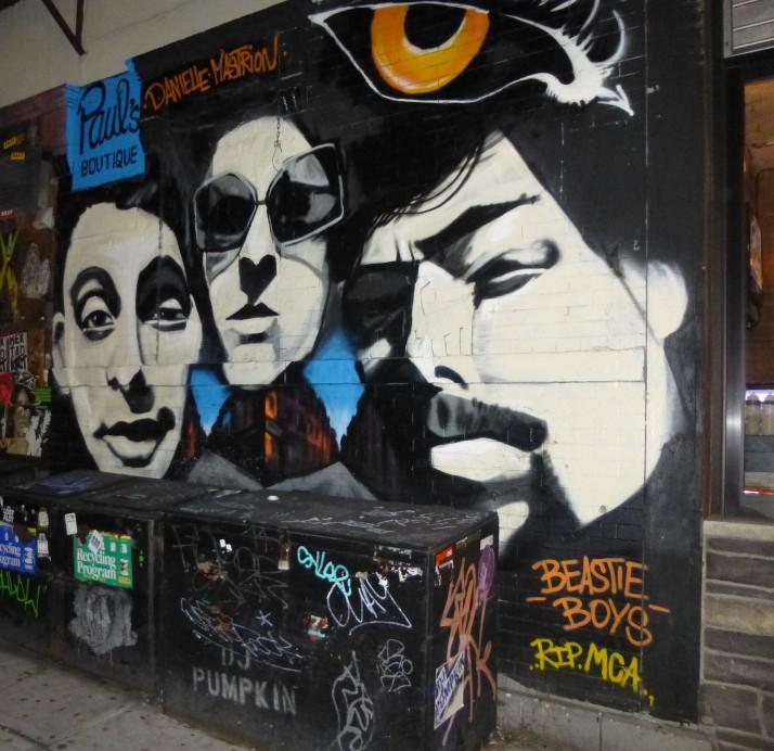 Beastie Boys Mural