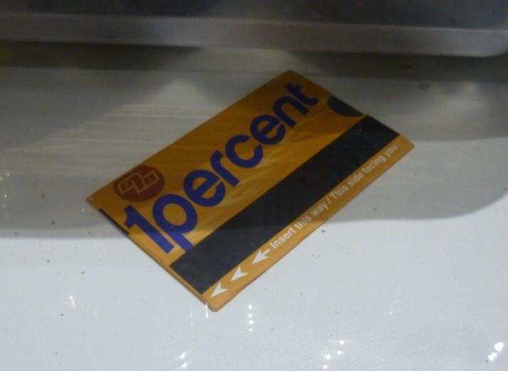1 Percent Card
