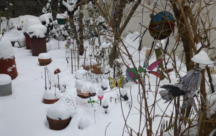 Community Garden Whirligigs