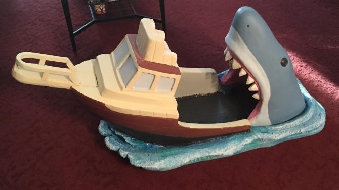 Shark Attack Baby Bed