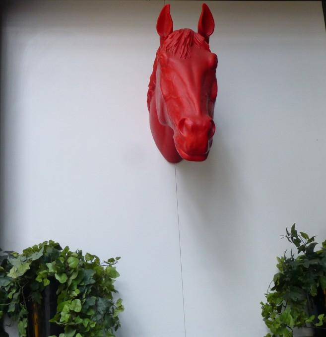 Red Horse Head Citizen M Hotel