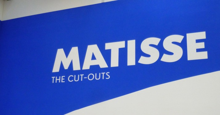 Matisse The Cut Outs Signage