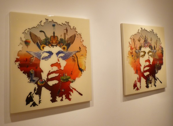 Jimi Hendrix 4 and Jimi Hendrix 2