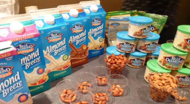 Blue Diamond Almond Milk and Nuts