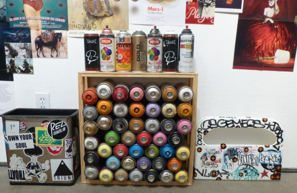 JL Spray Paint Cans