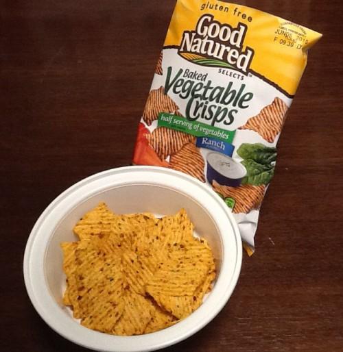 Good Natured Vegetable Crisps in a Bowl