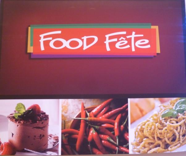 Food Fete Signage