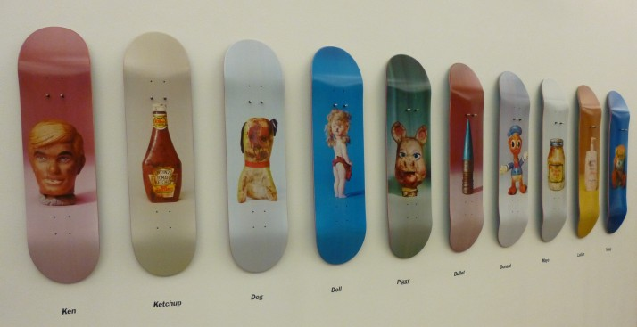 Skate Decks by Paul McCarthy