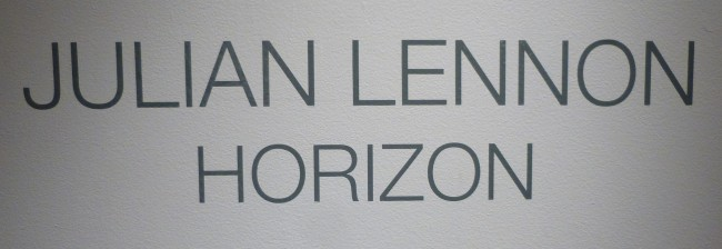 Julian Lennon Horizon Signage