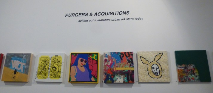Purgers and Acquisitions