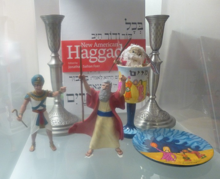 Moses and Ramses Action Figures