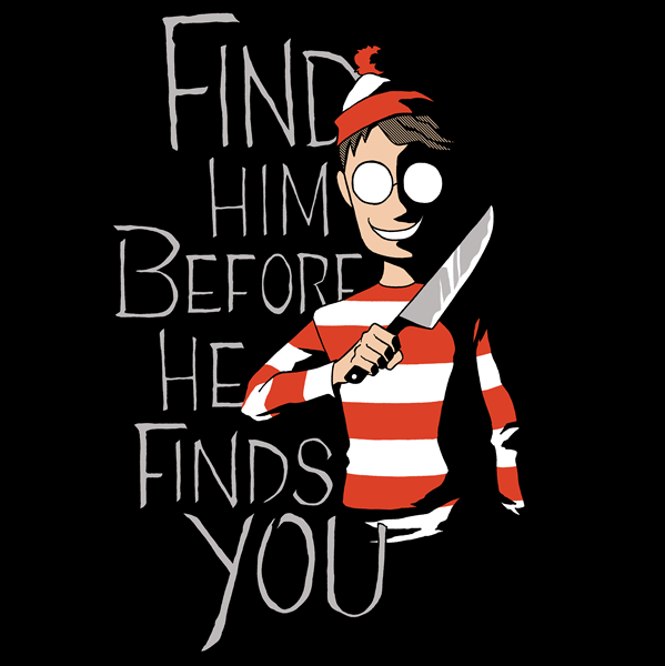 Waldo Hiding in the Dark