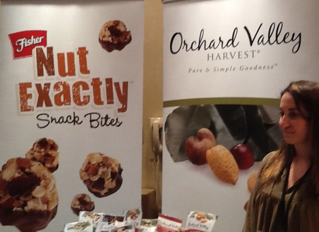 Orchard Valley and Nut Exactly Booth
