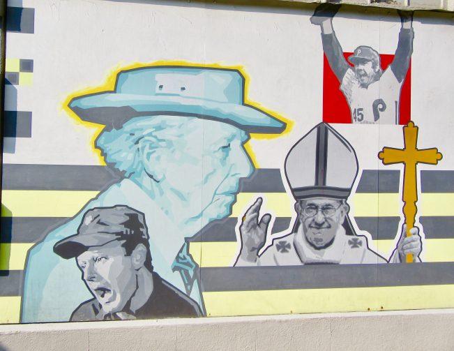 Frank Burns FLW Pope Francis