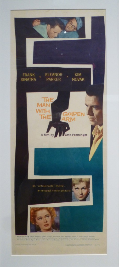 Movie Ad for the man with the Golden Arm