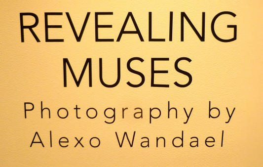 Revealing Muses Signage