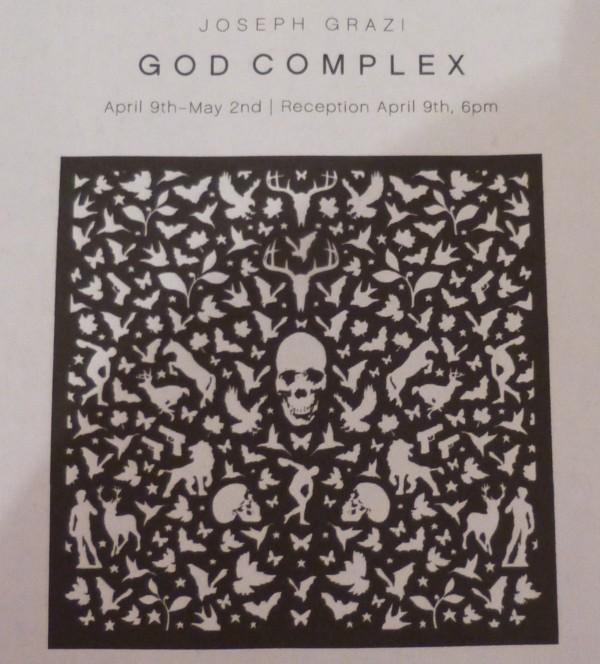 God Complex Signage