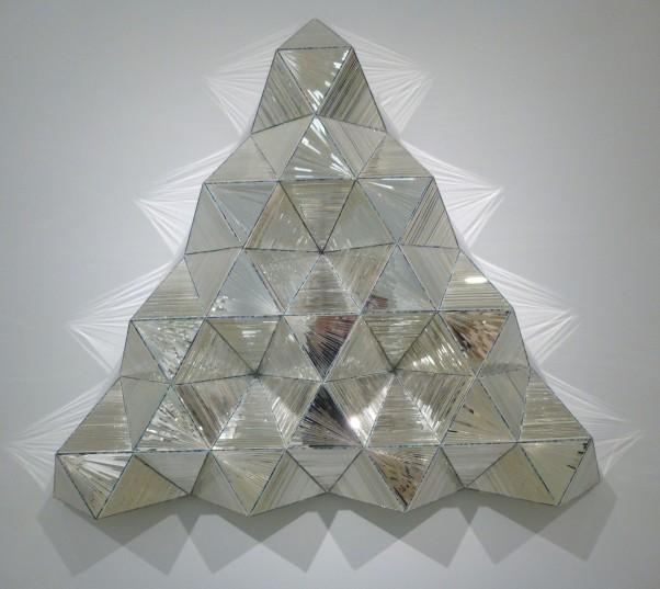 Triangular Wall Mirror