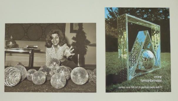 Monir and Sculptures