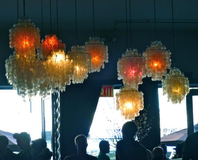 Verner Panton Shell Lamps