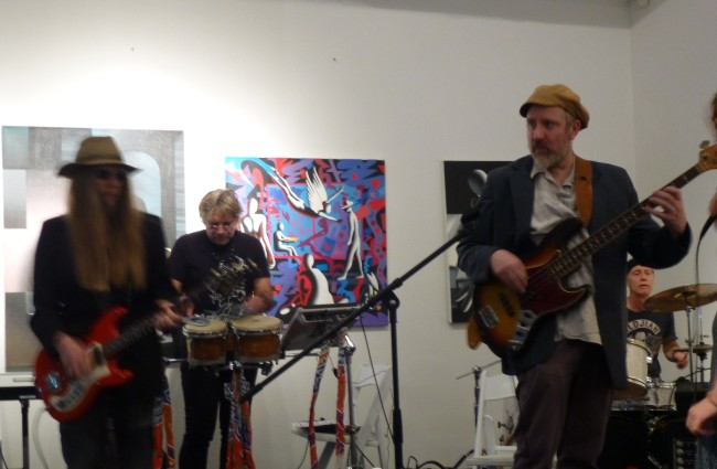 Band with Paul Nowinski
