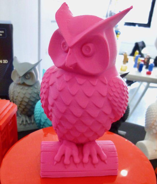 3D Print Pink Owl