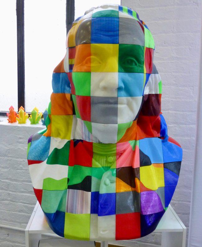 3D Print Bust of Benjamin Franklin