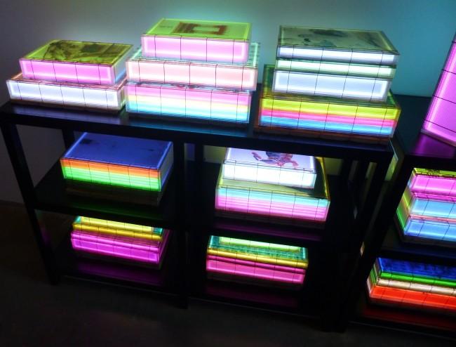 Luminous Poem Book Shelf